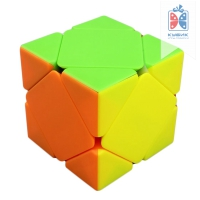 Magic cube Skewb Цветной пластик