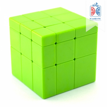 QiYi MoFangGe Mirror Blocks 3x3x3 Зеленый