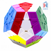Magic Cube Megaminx Цветной пластик